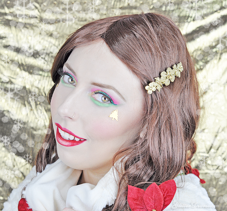 Deck the Halls Holiday Inspired Makeup Tutorial