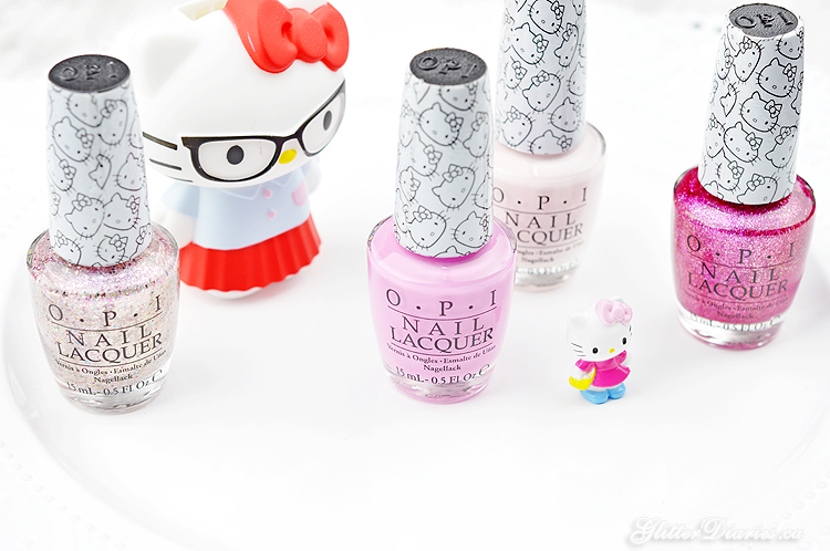Hello Kitty by OPI Collection Review