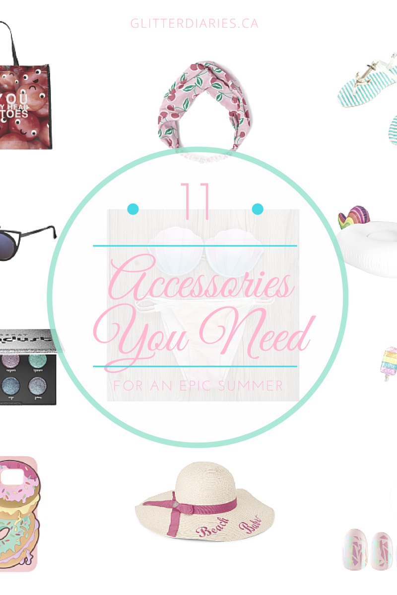 15 Accessories You Need For an Epic Summer