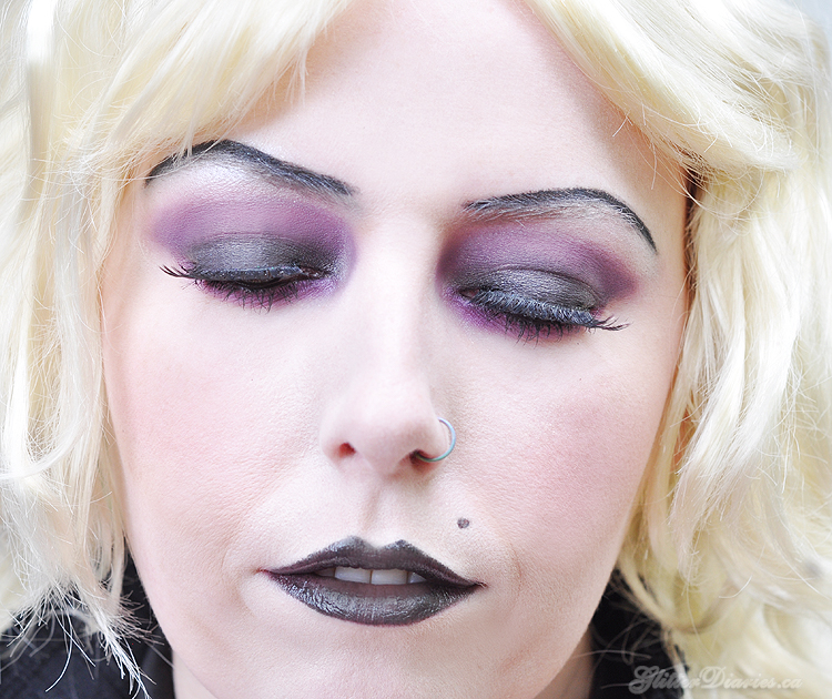 Bride of Chucky Tiffany Halloween Makeup Tutorial