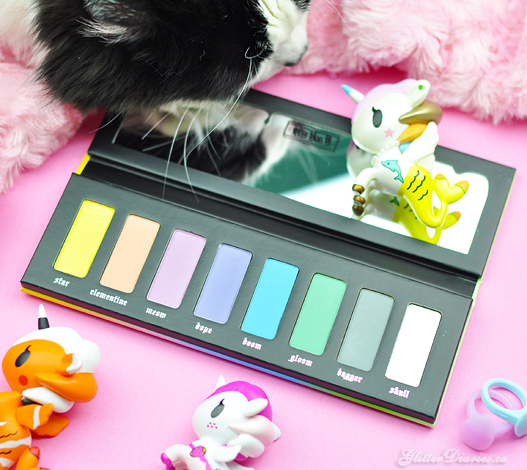 Kat Von D Pastel Goth Eyeshadow Palette Review