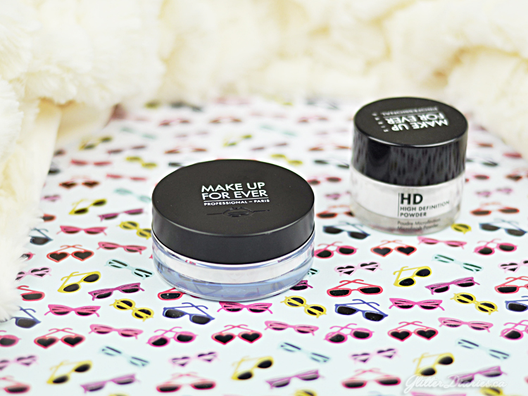 Make Up For Ever Ultra HD Loose Powder vs. HD Microfinish Powder