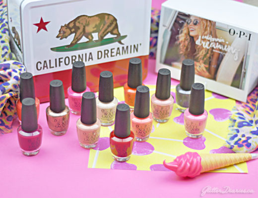 OPI California Dreaming Summer 2017 Review
