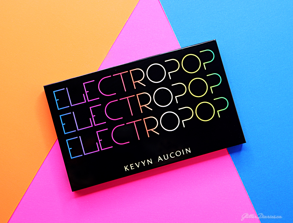 Kevyn Aucoin Electropop Pro Eyeshadow Palette Review